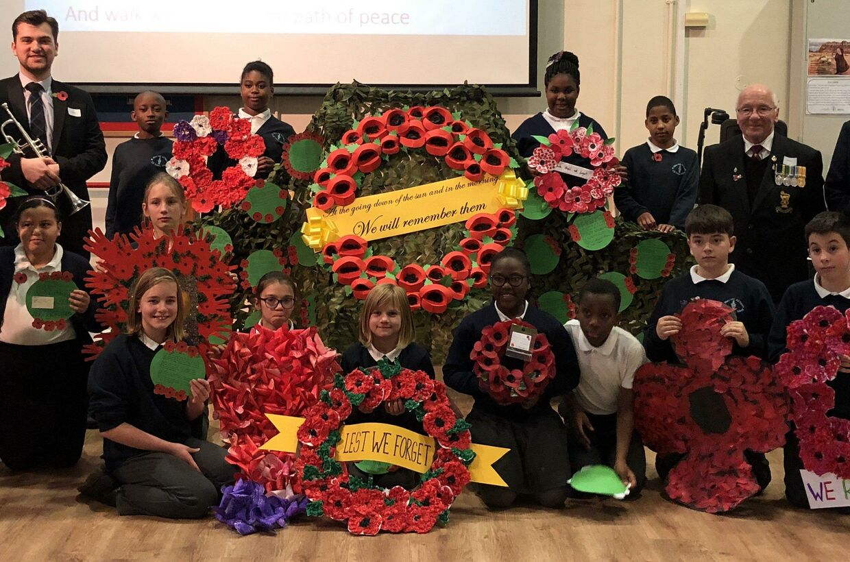 Remembrance at St Mary & All Saints